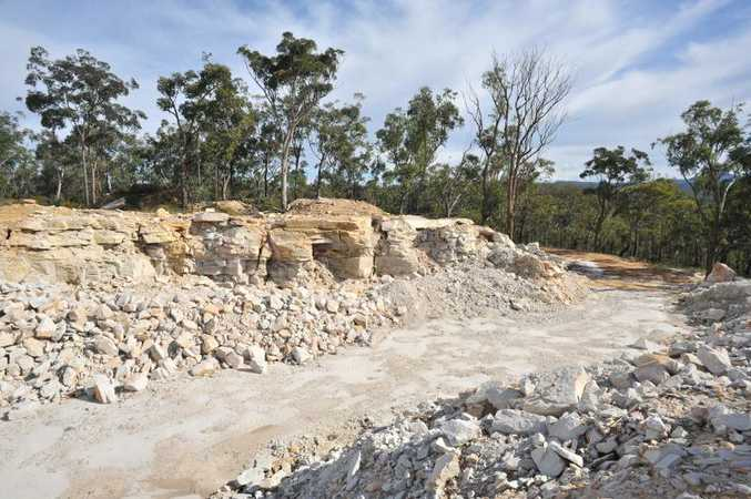 3,000 acres established quarries & extensive timber resources