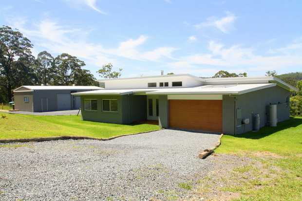 Exclusive to NSW Real Estate, this almost new home 4 bedroom home on 1.9 hectares at  Nana Glen offe...