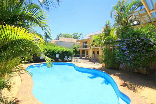 Exclusive to NSW Real Estate this resort style fully furnished townhouse on the beach at Korora just...