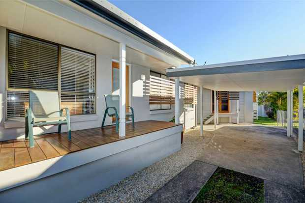 A stunning renovation inside, outside and basically all over. This home is like new but without the...