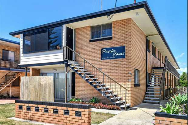 Gorgeous two bedroom unit situated on the first floor in a small block opposite beautiful Bilinga...
