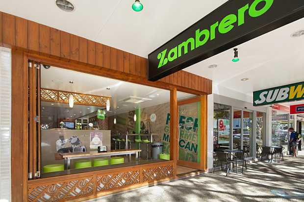 • SOLID EXISTING TENANT - 'Zambrero' Mexican Franchise Business