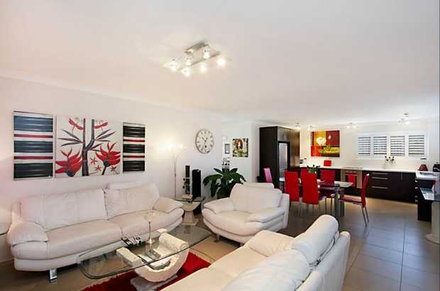 This amazing two bedroom unit is as neat as a pin.