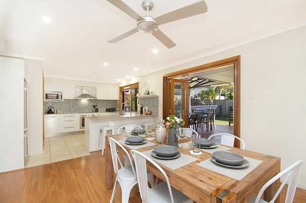 This charming family home offers all features of modern Australian living in the form of three bedro...
