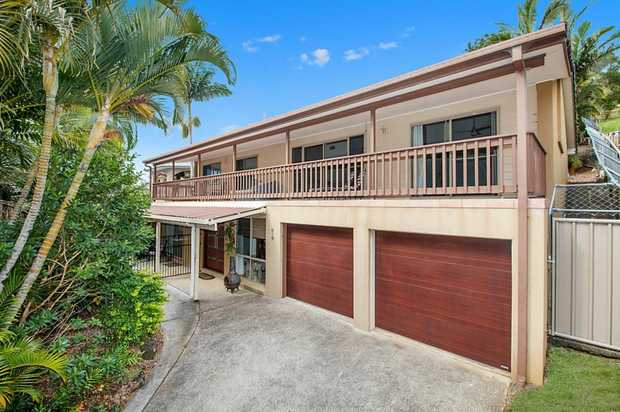 Elevated Contemporary Home in a Commanding Location