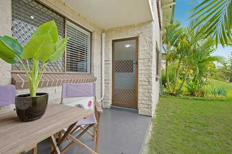 Open plan air conditioned living / dining enjoying glimpses of the Ocean Two reasonably sized...