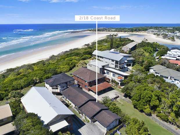 Enjoy the lifestyle of living beachfront in this cosy two bedroom unit at Hastings Point. Perfect for...