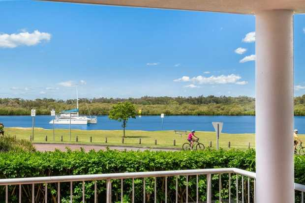 Relaxing Views Over the Tweed River