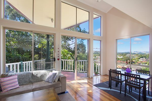 Tucked away in a private, hilltop location, this townhouse-style home enjoys a tranquil ambience thanks...