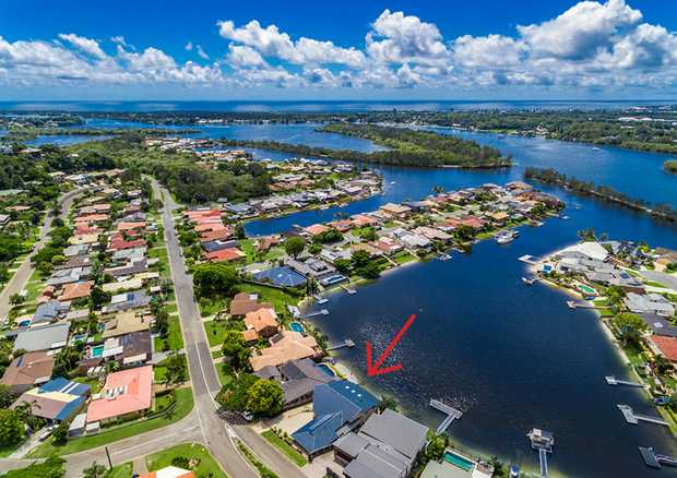 This absolute Waterfront Property is located in the Exclusive Oxley Cove Estate. Here you will enjoy...