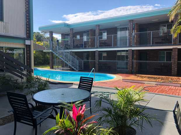 This is a Lovely spacious 2 bedroom unit at Park Beach, the unit has combined living areas with new...