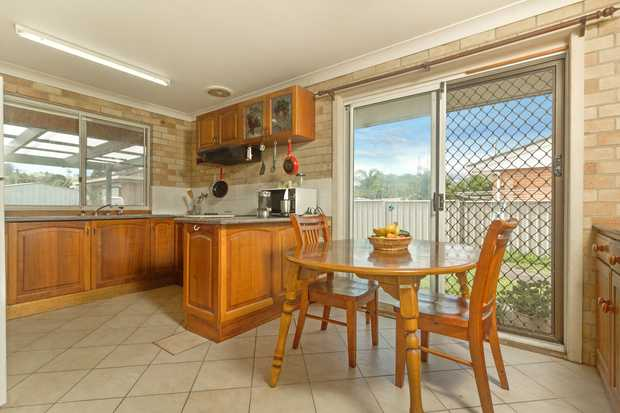 Convenient location for this spacious 3 bedroom home including kitchen and breakfast room, with two...
