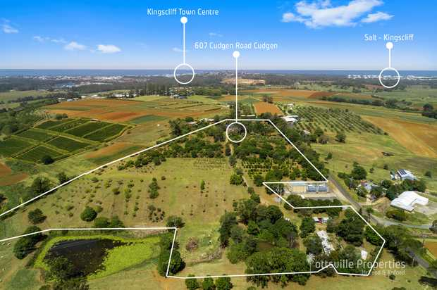 Introducing to the market the property aptly named BEACH FARM located in the heart of the Tweed Coast...