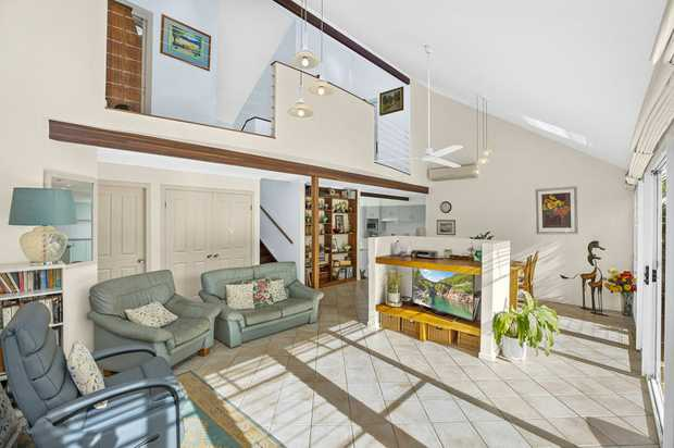 This beautiful, unique architecturally designed home is the perfect beach house. Very private, the home...