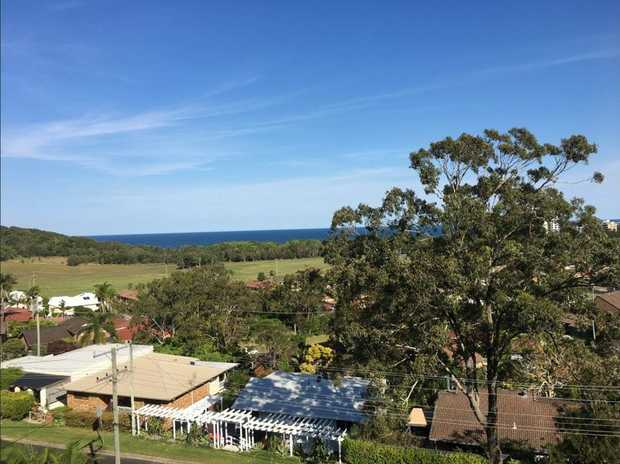 Take in the fresh air & beautiful ocean views with this top level 3 bedroom apartment. 2 bedrooms with...