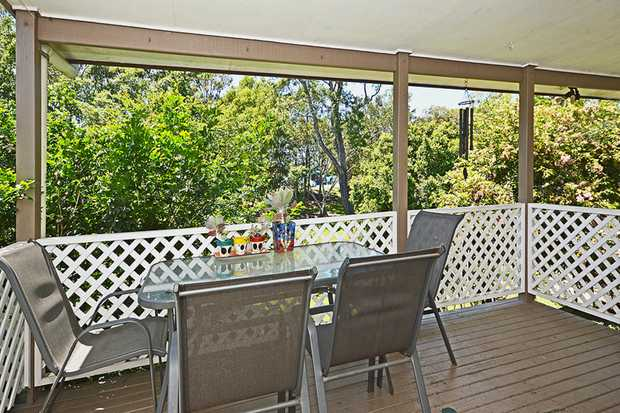 Elevated Three Bedroom Family home plus study offers a large back yard with private rear verandah and...