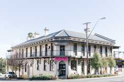 Last drinks were called at the iconic Exchange Hotel and it became Tenterfield's ultimate fashion an...