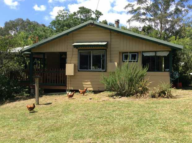 This classic three bedroom farmhouse sits on 3 acres and borders the Kalang River, where there are...