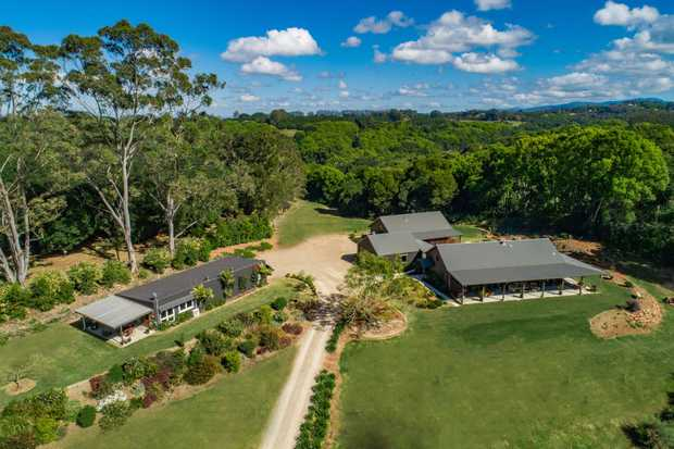 Upon arrival to this stunning private 10.25 acre lifestyle property, on one of the Hinterland's highest...