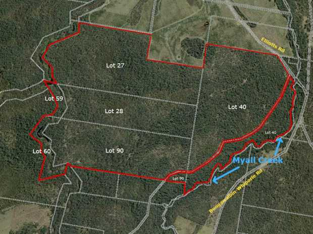 This 1206 acres consists of natural bush land with a large variety of native trees and several tracks...
