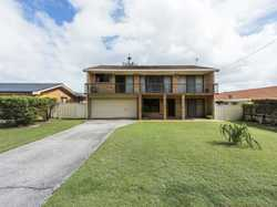 Convenient central location directly opposite nature reserve and sports field, this original brick h...