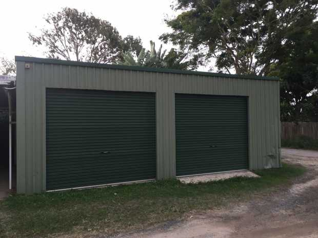 Double garage sized shed in Central location in Iluka.