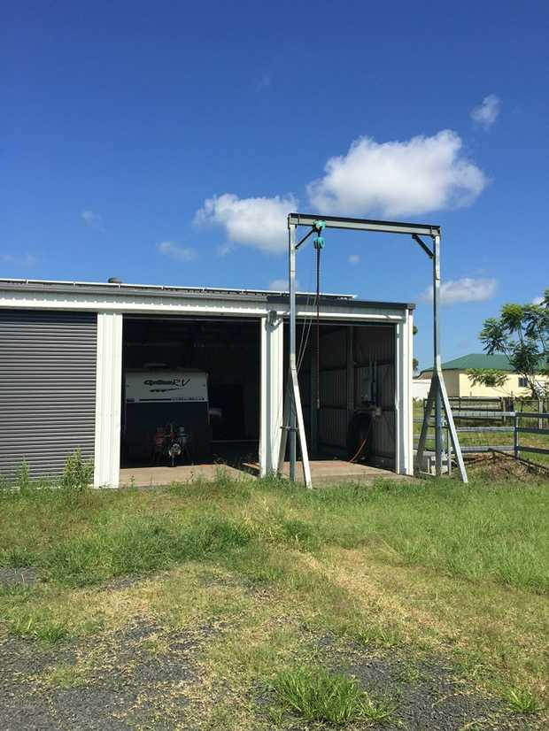 A huge storage shed, 12 x 6m in size, conveniently located between Lismore and Casino. Easily big...