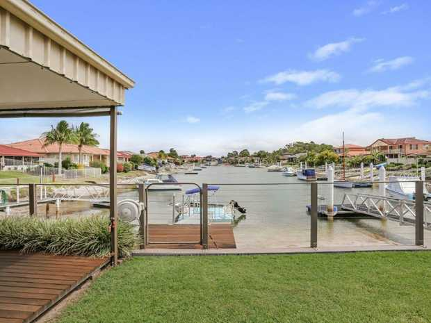 This absolute waterfront property has direct access to the Clarence River and sweeping views down the...