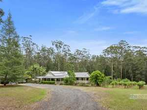 A charming country home on 5 private acres...