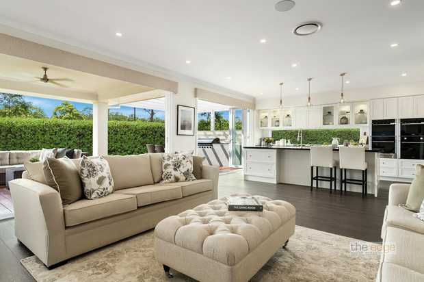 The Miami display home from McDonald Jones is pure luxury with it's contemporary architectural desig...