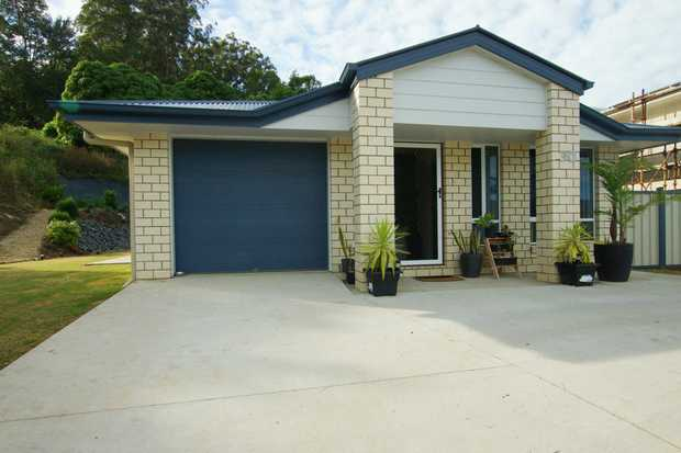 Family home located in the well sought after West Coffs, situated high up with views of the valley.