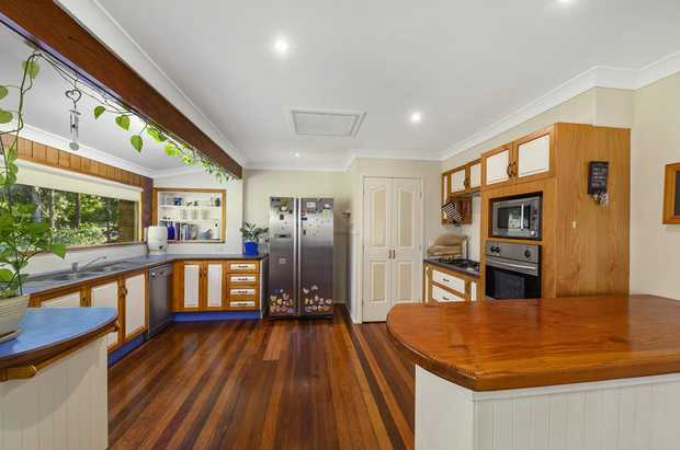 Set in the beautiful coastal location of Emerald Beach and sitting among the trees, this recently...