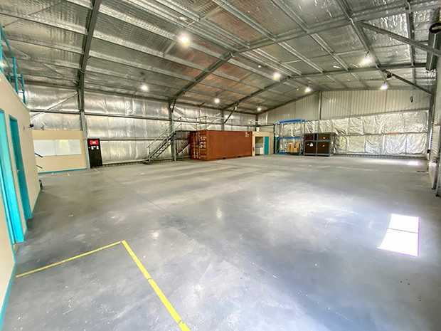 Modern industrial shed with existing fit out including offices and mezzanine storage. Easy access from...