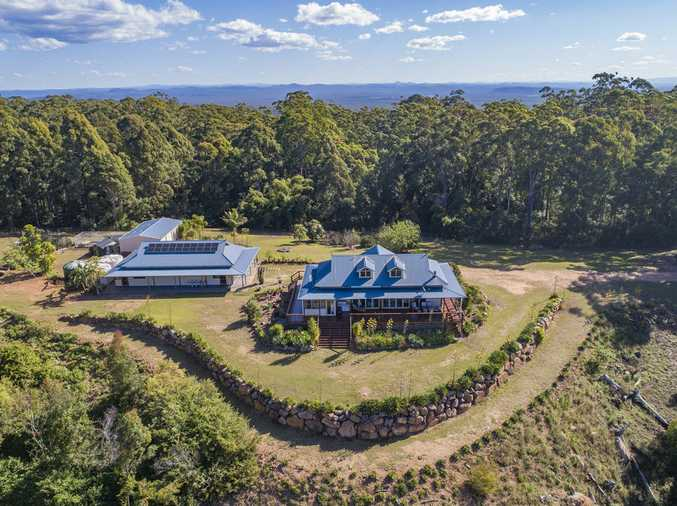 Hide away in privacy while waking up to the ocean views on acreage...