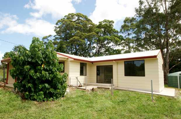 Modern three bedroom home exudes a cottage aura with its proximity to the nearby Orara River and sce...