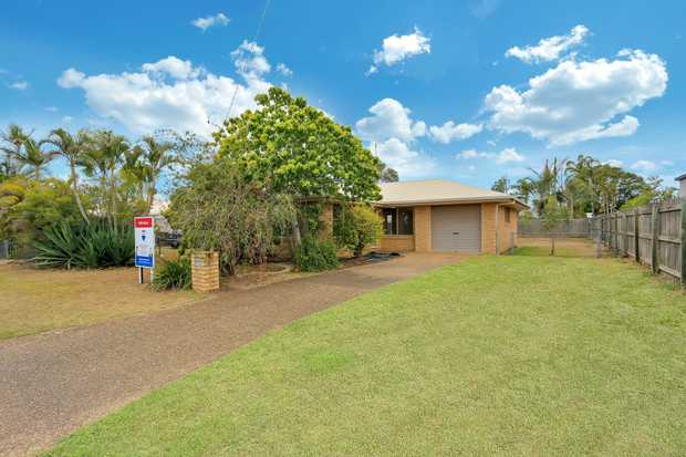 Positioned in a handy location this 3 bedroom brick residence is ready to add a few cosmetic and...