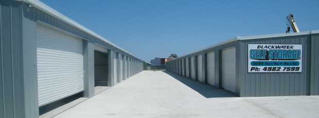 Storage sheds available in Blackwater. Located in a secure well maintained complex. We have same day...
