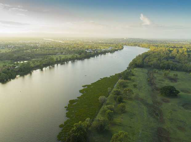 This river frontage rural property could all be yours.   Fully fenced 50 acres of improved pastures, 5...
