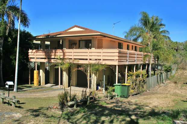 Good size two story home directly across from the beach and only a short walk to the Causeway Lake.