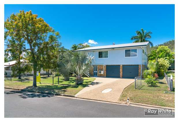 This north Rockhampton family home on a whopping 1196 m2 allotment has the lot starting with  - 4 bay...