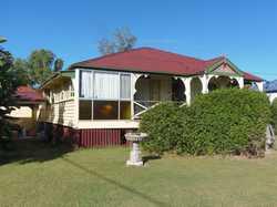 Situated on top of Policeman's hill in Goomeri is a split level 3 bedroom colonial Queenslander situ...