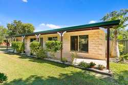 This solid, sandstone, block home is positioned on a ½ acre allotment in an area renown for larger,...