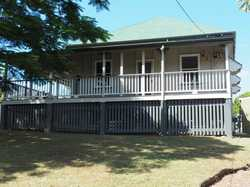 Situated right in the heart of Gympie is this well presented 3 bedroom  Queenslander up high on a la...