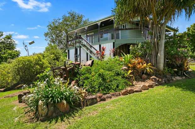 Situated approx. 4 minutes from the CBD of Gympie is a double storey hardiplank home on 4.45 acres...